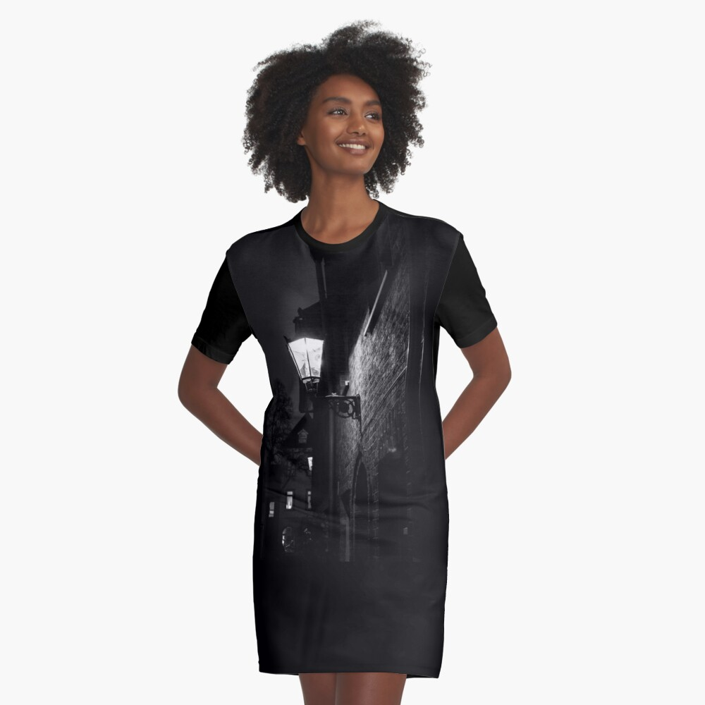 Graphic T-shirt Dresses feature your chosen design, by an independent artist