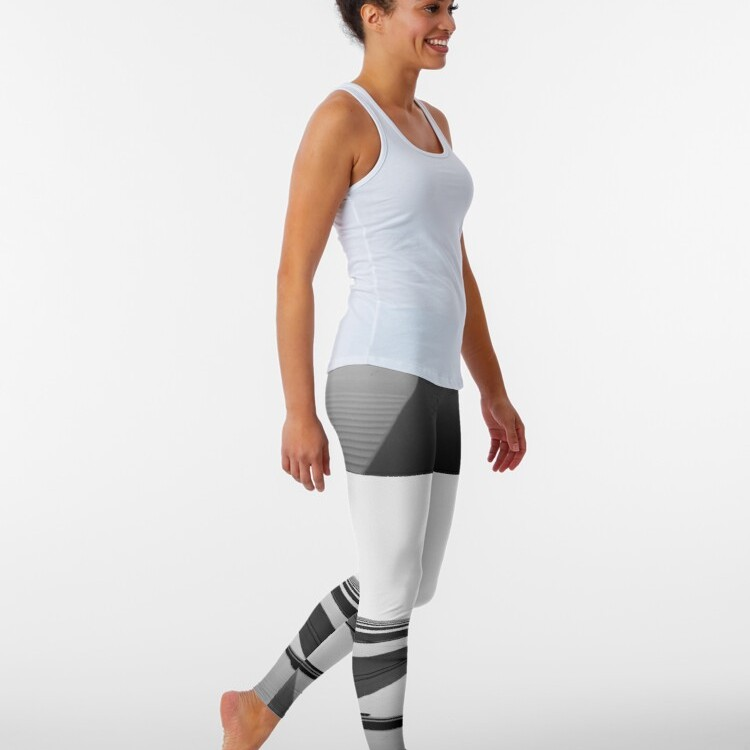 Artwork printed all over leggings